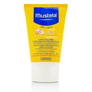 MustelaVery High Protection Sun Lotion SPF50+ - Sun Sensitive & Intolerant Skin 100ml/3.3oz