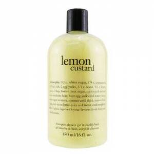 PhilosophyLemon Custard Shampoo, Shower Gel & Bubble Bath 480ml/16oz