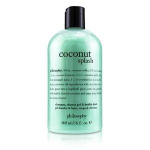 PhilosophyCoconut Splash Shampoo, Shower Gel & Bubble Bath 480ml/16oz