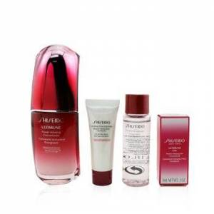 ShiseidoSkin Defense Program Set: Ultimune Power Infusing Concentrate 50ml + Cleansing Foam 15ml + Softener 30ml + Eye Concentrate 3ml 4pcs