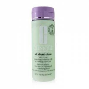 CliniqueAll about Clean All-In-One Cleansing Micellar Milk + Makeup Remover - Very Dry to Dry Combination 200ml/6.7oz