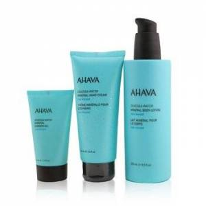 AhavaSea-Kissed Mineral Delights Set: Mineral Body Lotion 250ml+ Mineral Hand Cream 100ml+ Mineral Shower Gel 40ml 3pcs