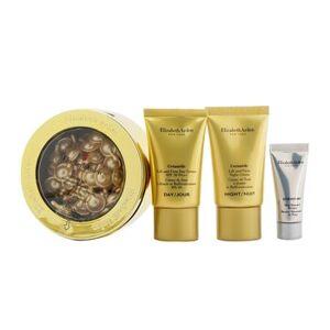 Elisabeth Arden Elizabeth ArdenCeramide Daily Youth Restoring Capsules Set: Capsules 60caps+ Day Cream SPF 30 15ml+ Night Cream 15ml+ Skin Renewal Booste... 4pcs