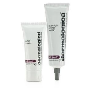 DermalogicaAge Smart Set: Overnight Retinol Repair 30ml + Buffer Cream 15ml 2pcs