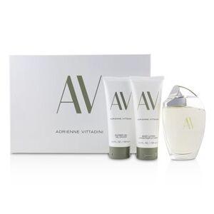 Adrienne VittadiniAV Coffret:Eau De Parfum Spray 90ml/3oz + Body Lotion 100ml/3.4oz + Shower Gel100 ml 3pcs