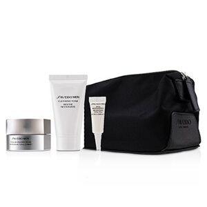 ShiseidoMen Total Age-Defense Program Set: 1xTotal Revitalizer Cream 50ml+1xCleansing Foam 30ml+1xTotal Revitalizer Eye 3ml+1xPouch 4pcs