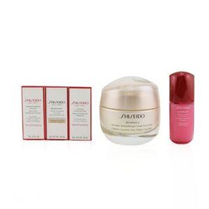 ShiseidoAnti-Wrinkle Ritual Benefiance Wrinkle Smoothing Cream Enriched Set (For Dry Skin): Wrinkle Smoothing Cream Enriched 50ml + Cleansing Foam 5ml