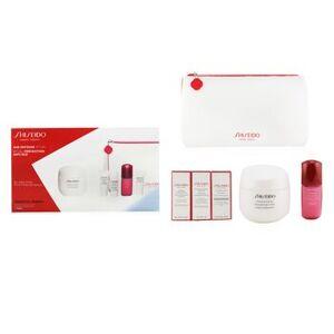 ShiseidoAge Defense Ritual Essential Energy Set (For All Skin Types): Moisturizing Cream 50ml + Cleansing Foam 5ml + Softener Enriched 7ml + Ultimune