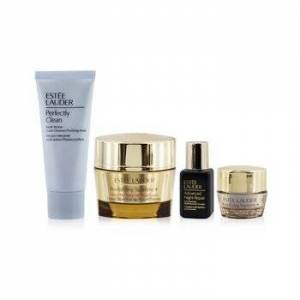 Estee LauderFirm+Glow Collection: Revitalizing Supreme+ Creme+ ANR Multi Recovery+ Revitalizing Supreme+ Eye+ Perfectly Clean 4pcs