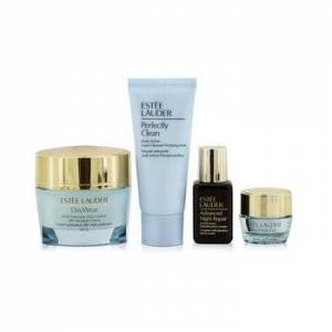 Estee LauderProtect+Hydrate Collection: DayWear Moisture Creme SPF 15 50ml+ ANR Multi Recovery 15ml+ DayWear Eye 5ml+ Perfectly Clean 30ml 4pcs