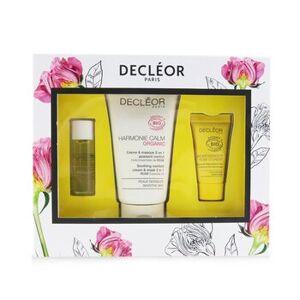 DecleorCertified Organic Soothing Box: Comfort 2 In 1 Cream & Mask 50ml+Comfort Oil-Serum 5ml+Comfort Night Balm 2.5ml 3pcs