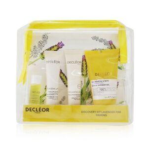 DecleorLavende Fine Firming Discovery Kit: Oil Serum 5ml+ Day Cream 15ml+ Flash Mask 15ml+ Bath & Shower Gel 50ml 4pcs