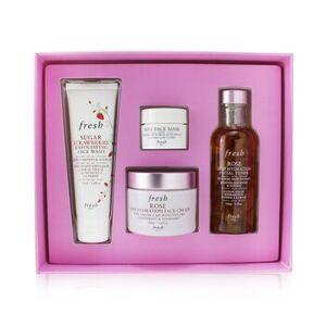FreshRose Deep Hydration Skincare Set 4pcs