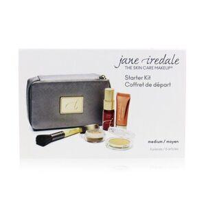 Jane IredaleStarter Kit (6 Pieces): 1xPrimer & Brighter, 1xLoose Mineral Powder, 1xMineral Foundation - # Medium 6pcs