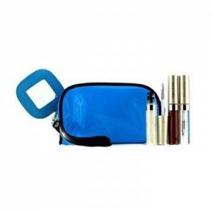 KaneboLip Gloss Set With Blue Cosmetic Bag (3xMode Gloss, 1xCosmetic Bag) 3pcs+1bag