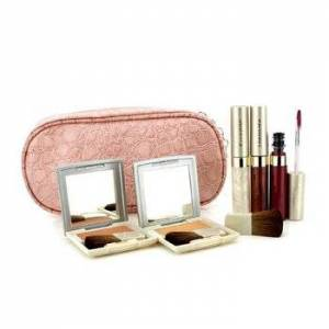 KaneboCheek & Lip Makeup Set With Pink Cosmetic Bag (2xCheek Color, 3xMode Gloss, 1xBrush, 1xCosmetic Bag) 6pcs+1bag