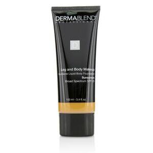 DermablendLeg and Body Make Up Buildable Liquid Body Foundation Sunscreen Broad Spectrum SPF 25 - #Tan Honey 45W 100ml/3.4oz
