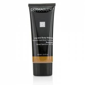DermablendLeg and Body Make Up Buildable Liquid Body Foundation Sunscreen Broad Spectrum SPF 25 - #Deep Golden 70W 100ml/3.4oz