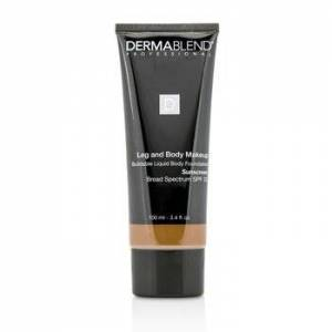 DermablendLeg and Body Make Up Buildable Liquid Body Foundation Sunscreen Broad Spectrum SPF 25 - #Deep Natural 85N 100ml/3.4oz