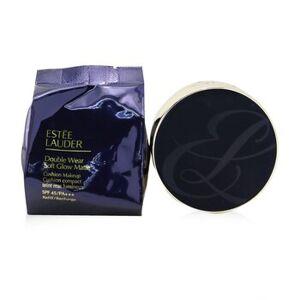 Estee LauderDouble Wear Soft Glow Matte Cushion Makeup SPF 45 With Extra Refill - # 1W1 Bone 2x 12g/0.42oz