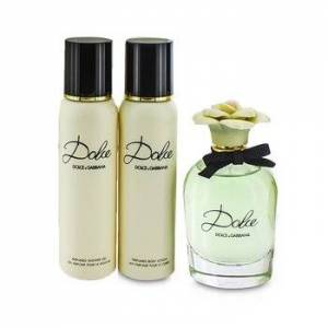Dolce & GabbanaDolce Coffret: Eau De Parfum Spray 75ml/2.5oz + Body Lotion 100ml/3.3oz + Shower Gel 100ml/3.3oz 3pcs