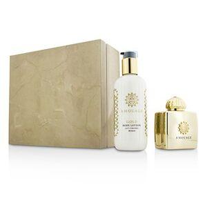 AmouageGold Coffret: Eau De Parfum Spray 100ml/3.4oz + Body Lotion 300ml/10oz 2pcs