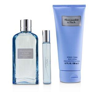 Abercrombie & FitchFirst Instinct Blue Coffret: Eau De Parfum Spray 100ml/3.4oz + Body Lotion 200ml/6.7oz + Eau De Parfum Spray 15ml/0.5oz 3pcs