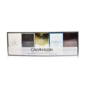 Calvin KleinMiniature Coffret: CK One Edt 10ml + Eternity Edt 10ml +CK One Gold Edt 10ml+Eternity Air Edt 10ml+ Euphoria Men EDT 10ml 5x10ml/0.33oz