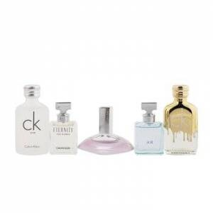 Calvin KleinDeluxe Fragrance Travel Collection: CK One EDT 10ml + CK One Gold EDT 10ml + Eternity EDP 5ml + Eternity Air EDP 5ml + Euphoria EDP 4ml (B