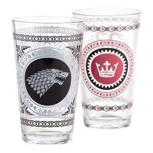 World Market Game of Thrones Pub Glasses Set of 2 - Targaryen by World Market