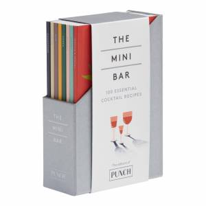 World Market The Mini Bar Cocktail Recipe Book Collection 8 Piece: Gray - Paper by World Market