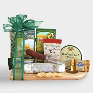 World Market Complete Cheeseboard Gift Basket by World Market