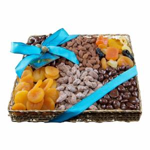 World Market Monaco Collection Fruit and Nut Gourmet Sampler Tray by World Market