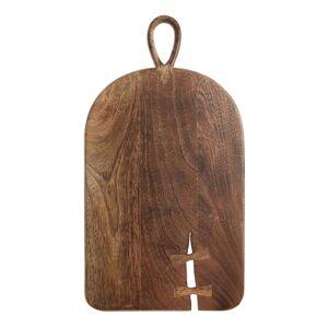 World Market Dark Mango Wood Butterfly Key Cutting Board by World Market