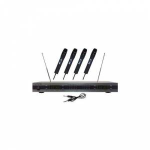Pyle Pror PYLE PRO PDWM5500 4-Microphone VHF Wireless Microphone System