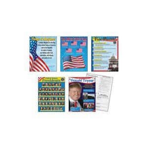 Trend U.S. Presidents Bulletin Board Set