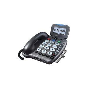 Geemarcr geemarc AMPLI550 50dB Amplified Telephone with Talking Caller ID