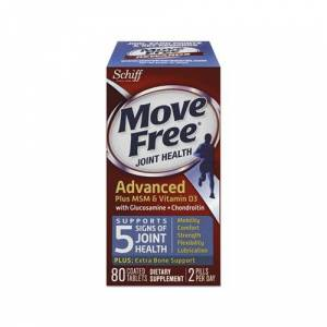 Reckitt Benckiser Move Free Advanced Plus MSM & Vitamin D3 Joint Health Tablet