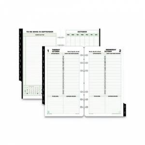 DAYTIMERS INC Dated One-Page-per-Day Organizer Refill