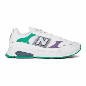 New Balance White X-Racer Sneakers