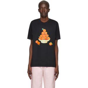 Casablanca SSENSE Exclusive Black Pyramid of Oranges T-Shirt