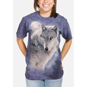 The Mountain Adventure Wolf Unisex T-Shirt   The Mountain, size: 2XL (+$2)