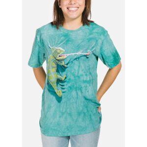 The Mountain Climbing Chameleon Unisex T-Shirt   The Mountain, size: S