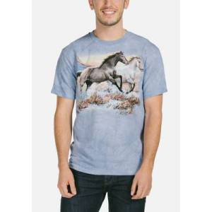 The Mountain Running Free Unisex T-Shirt   The Mountain, size: S