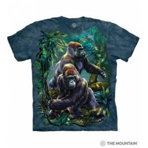 The Mountain Gorilla Jungle Unisex T-Shirt   The Mountain  - Size: 3XL