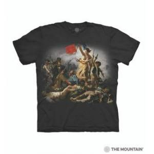 The Mountain Liberty Leading the People Unisex T-Shirt   The Mountain