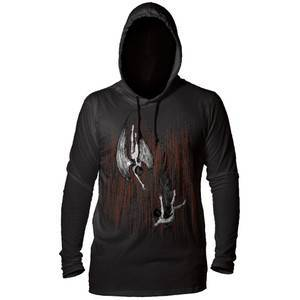 The Mountain The Fall Unisex Lightweight Hoodie Black   The Mountain