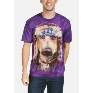 The Mountain Groovy Dog Unisex T-Shirt   The Mountain  - Size: S
