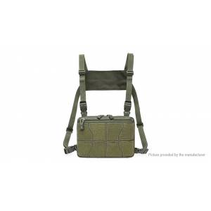 Adjustable Tactical Hunting Chest Vest Bag Military Pouch