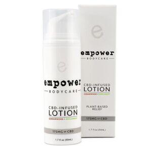 Empower® Topical Relief Lotion - Cedarwood Bergamot 175mg 50ml